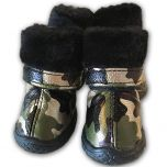 Camo Golden Green Boots Hundskor for smh Hundar