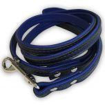Hundkoppel Blue & Black | Katt Koppel | Lätt, Smidig Koppel