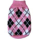 Stickad Hundtröja MurrBerry Classic Pink