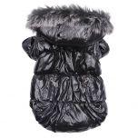 Hundtäcke Heavy Metal Black Jacket   Hundjacka för Vinter