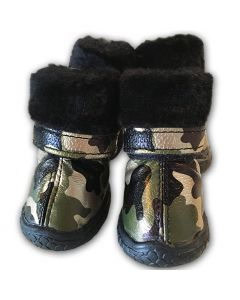 Camo Golden Green Boots Hundskor for smh Hundar