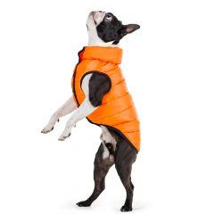 Hund Väst | Airy Vest Orange | Varm och Exceptionelt Lätt Vinter Väst