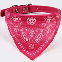 Hundhalsband Bandana Pink | Scarf för Hund | Katthalsband, DiivaDog