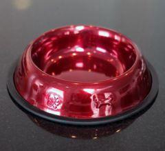 Hundens Präglad halkfria matskål i rostfritt stål, DiivaDog