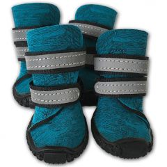 Dog Boots | Blue Neopren Hund Skor | Skyddsskor för hundar