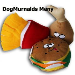 Hund Mjukleksaker Dog Murrnalds Meny | DiivaDog.se