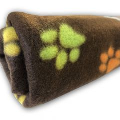 Hundfilt | Kattfilt | Fleecefilt My Paws Brown