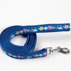 Hundens och Kattens blå koppel Color Paws, DiivaDog