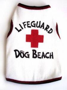 Hund Kläder | Hund T-shirt | Tank-Top Lifeguard Tank