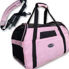 Bärväska Rosa Puppy Bag | DiivaDog.se