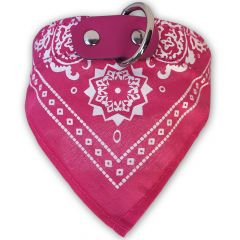 Hundbandana Pink | Hundhalsband | Hund scarf | Kattbandana