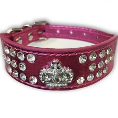 Hund Halsband | Frambredd Halsband Fairytale Princess Rosa