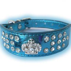 Hund Halsband | Katt Halsband | Fairytale Prince Blue för känslig hals