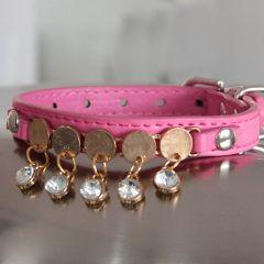 Halsband Party Halsband Jewel, för en liten Hund och Katt, Passar för hals c. 20-26 cm, DiivaDog