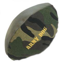 Hundleksak |Mjukleksak för Hunden |Army Dog Camo American Football |Leksak Med Ljud