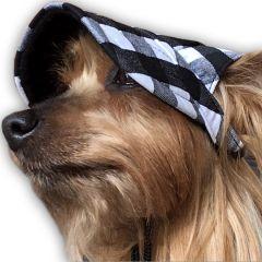 Hundkeps Mediterráneo | Solskydd Rutig Hundkeps till Små Hundar