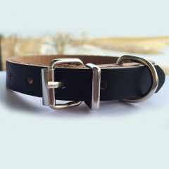 Hundhalsband Mini Black Minimalistic, DiivaDog