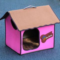 Hundkoja | Kattkoja Villa Dog Pink Classic, DiivaDog