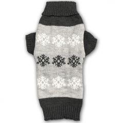 Hund Troja Snow Star| Stickad Pullover