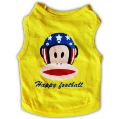Hund Kläder, Hundens Sport Shirt Tank Top Happy Football