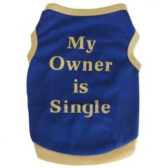 Hundens Shirt Tank Top My Owner Is Single