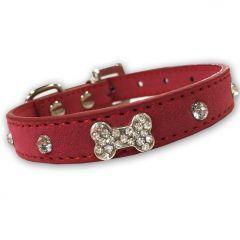 Hund Halsband | Diamond Bone Rosa