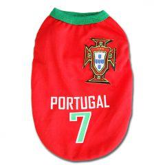Hundens Match och Sport T-Shirt Portugal