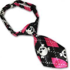 Hundslips, Kattslips Pink Skull