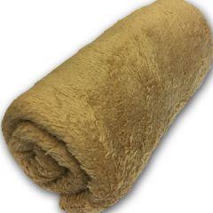 Hundtäcke Microfiber | Soft Camel | Sovmadrass for hunden
