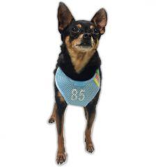 Hundens Sele + Koppel | Mesh 85 Blue