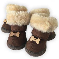 Dog Boots |Dog Winter Boots, Arctic Bones Hund Skor |Skyddsskor för hundrar |Boots för Hunden