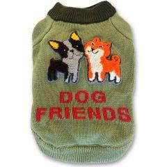 Bomulltröja Dog Friends till liten Hund DiivaDog.se