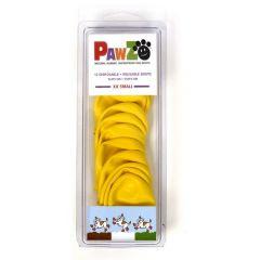PawZ gummiboots för hunden   PawZ är tillverkade av naturgummi och formas efter tassen så att hunden känner av markunderlaget   PawZ är vattentäta och skyddar mot kemikalier, gifter, vägsalt mm.   Pawz hålls på tassarna utan snören eller band   I packning