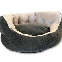 Hundbädd | Kattbädd | Lux Gray Day Dream | Mjuk och Bekväm | DiivaDog.se
