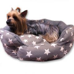 Bädd Night Stars | Mjuk och Bekväm Bädd för Liten Hund eller Katt | DiivaDog.se