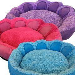Hundbädd Round Paw Puppy Bed, tre färger att välja