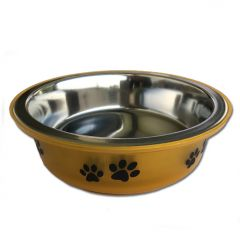 Matskål för Hunden |Gold Paws |Rostfritt Stål |Non-Slip