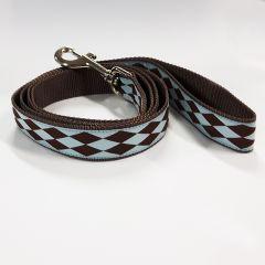 Hundens Koppel Licorice Check | Koppel Längd 150cm | 2 Storlekar
