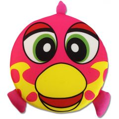 Aktivering för Hunden | Flytande Frisbee Happy Fish Pink | DiivaDog.se