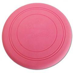 Aktivering för Hunden | Silicon Frisbee Pink
