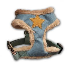 Hundens Sele | Fur Star Harness Blue