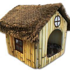 Hund Hus Bamboo Home | Hundbädd | Kattbädd